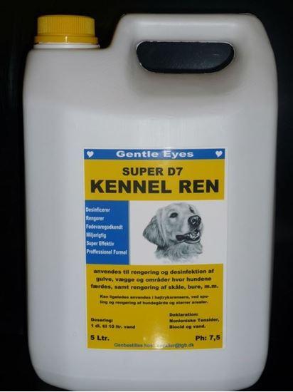 Billede af D7 Kennel rens 5L.