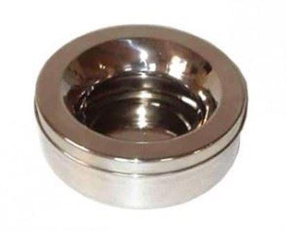 Billede af Non-splash skål i rustfrit stål 1,2 L