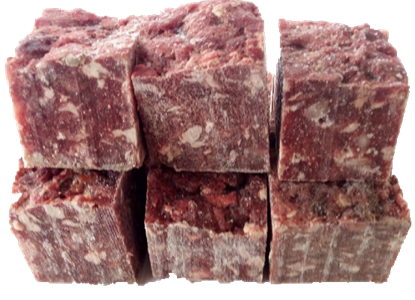 Billede af Oksekød, fedt, brusk 5 kg. i små blokke