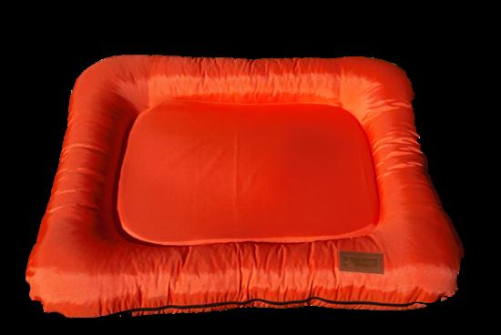 Billede af Orange hundekurv 73x88 cm