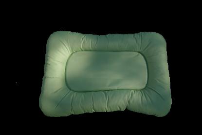 Billede af Limegrøn hundekurv 46x70 cm.
