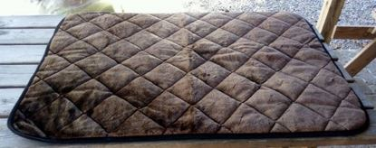 Billede af Quiltet tæppe 70x100 cm
