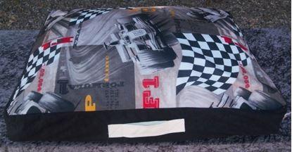 Billede af Hundepude formel 1, 75x65x18 cm