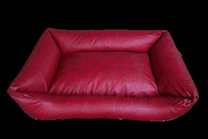 Billede af Hundesofa rød 120x80x30 cm