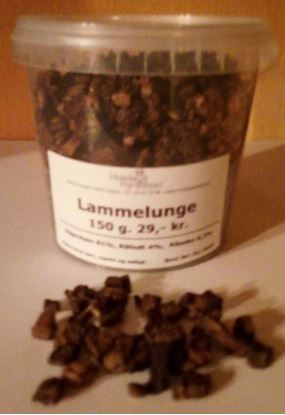 Billede af Lammelunge i små tern 150g, Spand