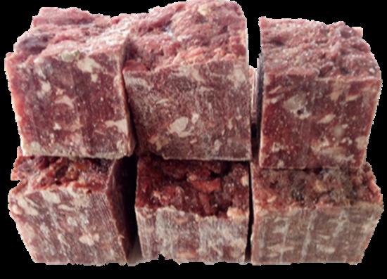 Billede af Hestekød 5 kg. små blokke