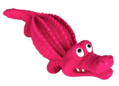 Billede af Krokodille i hård gummi 24 cm